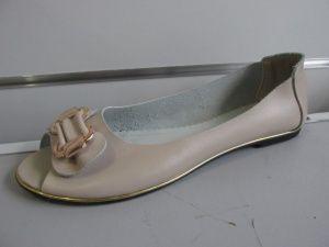 Бежевые кожаные балетки - 599 грн.Кожа мягенькая. Носить одно удовольствие. Код.-121.