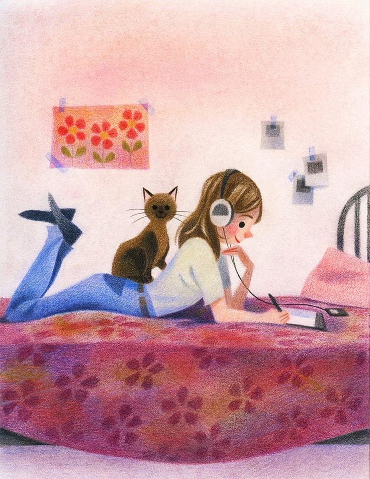 día relax con gato