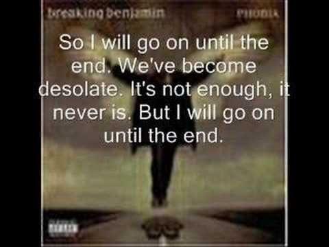 All Breaking Benjamin songs. - YouTube