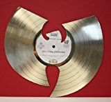 "#7: Wu-Tang ""Forever"" Gold Clad 12"" LP Laser Cut"