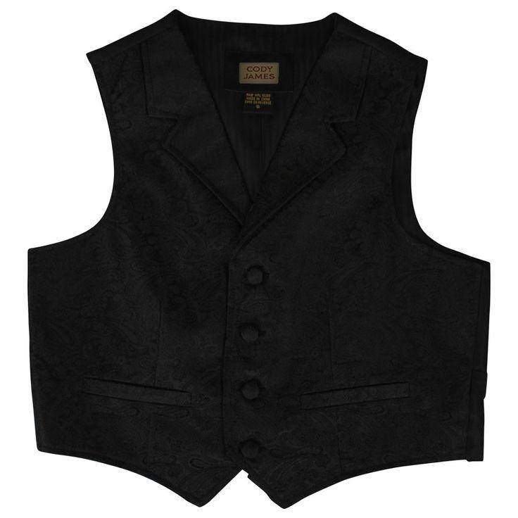 Classic Black Victorian Mens Vest http://www.vintagedancer.com/victorian/victorian-mens-clothing/