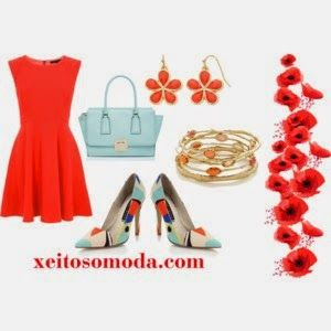 MODA XEITOSA: Otro color de temporada: Naranja