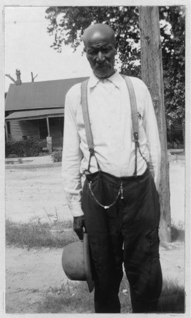 James Jackson , 87, was born a slave to the Alexander family, in Caddo Pariah, La. When he was about two, his master moved to Travis County, Texas. A short time later he and his two brothers were stolen and sold to Dr. Davall , in Bastrop Co., Texas. He worked around Austin till he married, when he moved to Taylor and then to Kaufman. In 1929 he went to Fort Worth where he has lived ever since.