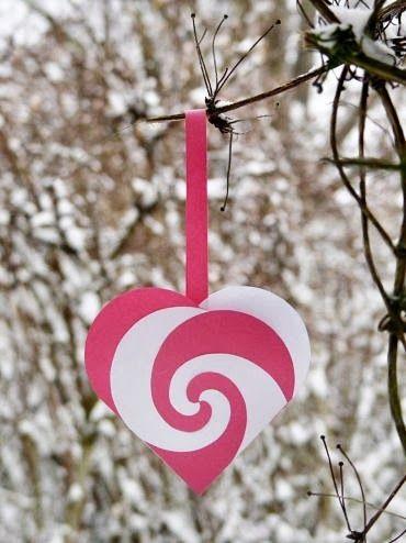 Varázspor: Papírszív Valentin napra