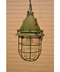 Vintage kooilampen groen