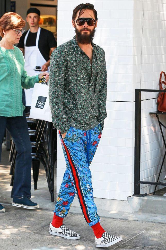 Джаред Лето в Gucci в Лос-Анджелесе