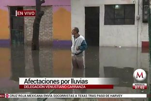Quedan bajo el agua casas en la colonia Pensador Mexicano - Milenio.com