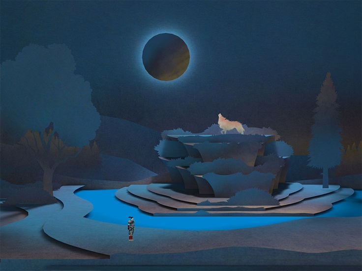 Tengami - Pushing the pop-up book style.  The cut paper look was a heavy influence on Lucidity.  This game looks beautiful.
