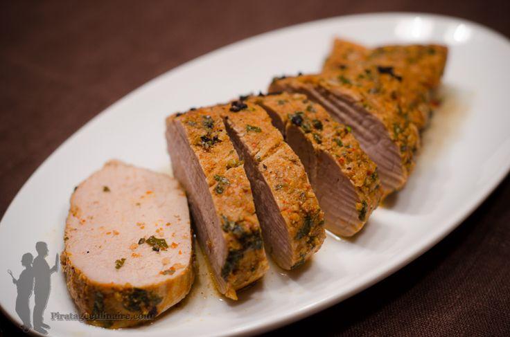 Filet mignon de porc à la jamaïcaine. J'ai reçu plusieurs ouvrages de cuisine à…