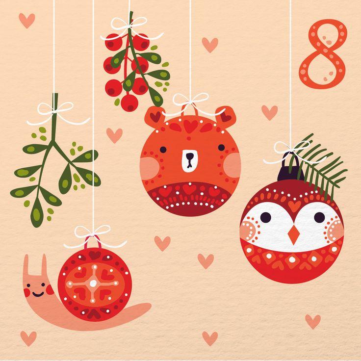 Illustrated Advent Calendar - Caroline Alfreds