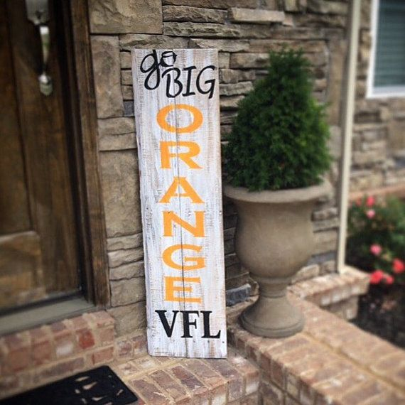 TN Vols sign by THEURBANUPCYCLETN on Etsy