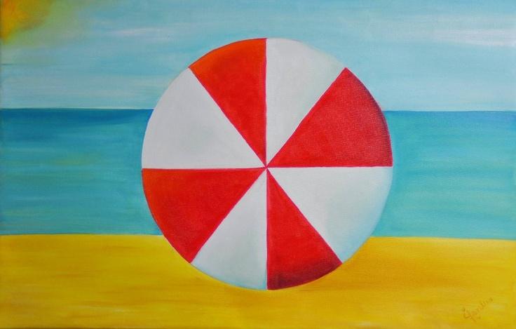 LA VIDA ES MAS SABROSA    Medium oil on canvas Dimensions: 85 x 85 cm Colection: Rayito de Sol Year: 2012 By: Laurelena Rodríguez www.laurelena.com