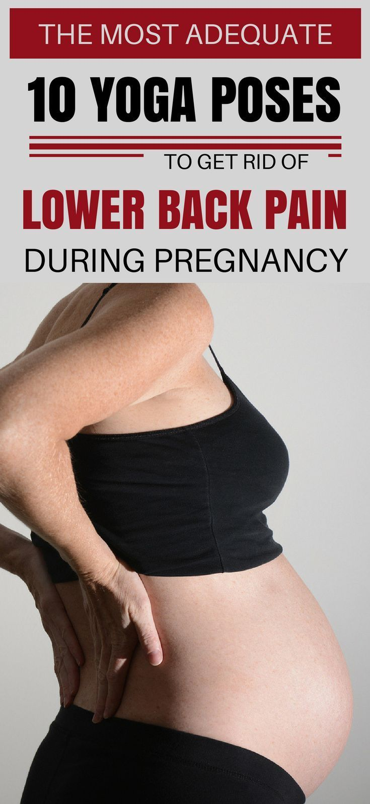 How To Get Rid Of Back Pain After Pregnancy