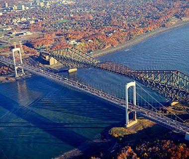 Longest Cantilever Bridge Span: The Quebec Bridge, Quebec - World's Longest Bridges   Travel + Leisure