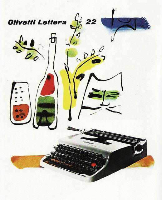 The Olivetti Typewriter