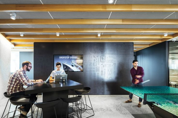 Dropbox's Intimate Sydney Office Channels the Home