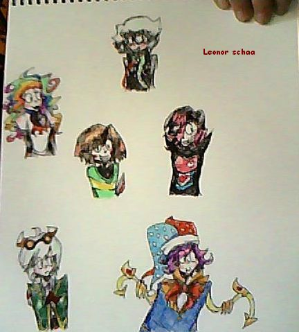 My favorites characters of series and games  #TraditionalArt   #Kirby  #Dhmis #DontHugMeImScared  #Undertale  #PaigeTheNotepad #Chara #MettatonEx #Marx  #Taranza  #ColinTheComputer