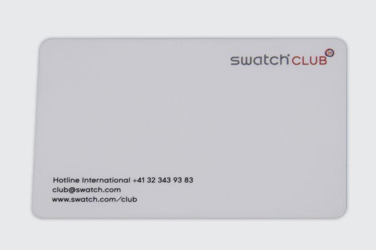 Club Card for Swiss Watch Brand