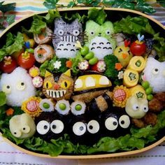 Unique cute sushi.