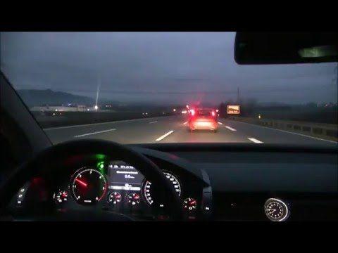 2015 VW Phaeton 3 0 V6 TDI 245 HP MAX Speed on Autobahn ᴴᴰ