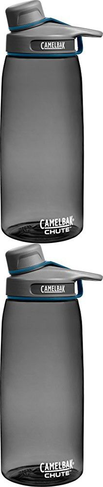 Camelbak Products Chute Water Bottle, Charcoal, 1-Liter