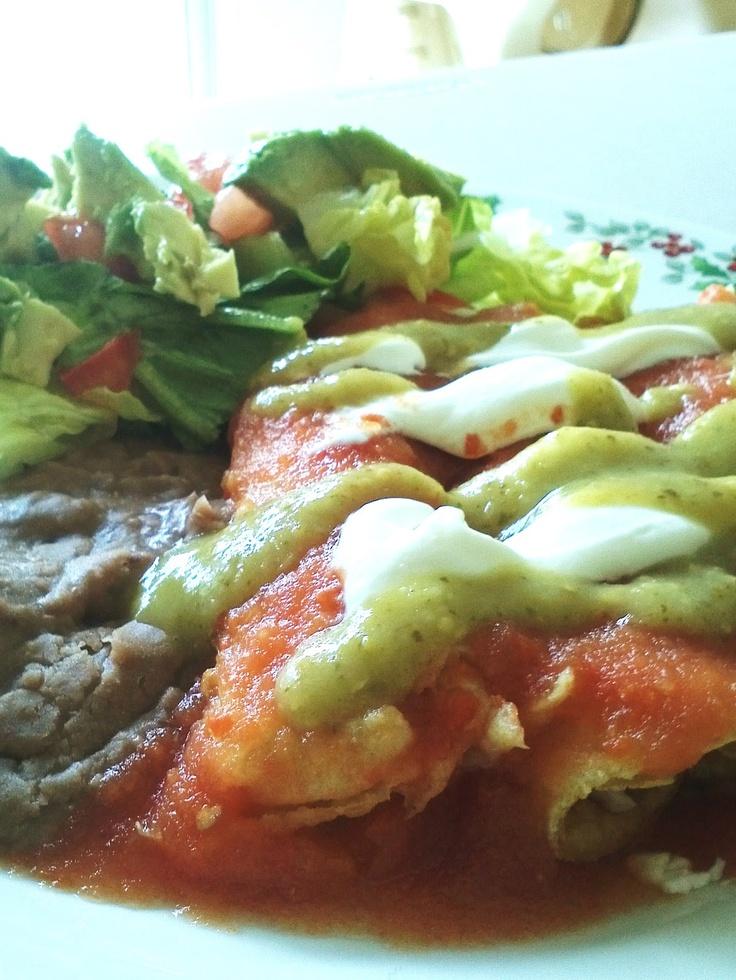 Home Delicious Home: Una idea para comer: Entomatadas :)