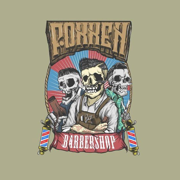 Fokken barbershop (south sumatra) #art #illustration #drawing #gajahnakaldesign by gajahnakal mail me on doaibv@gmail.com
