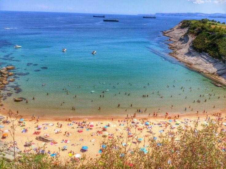 Playa de Mataleñas, Santander, Cantabria