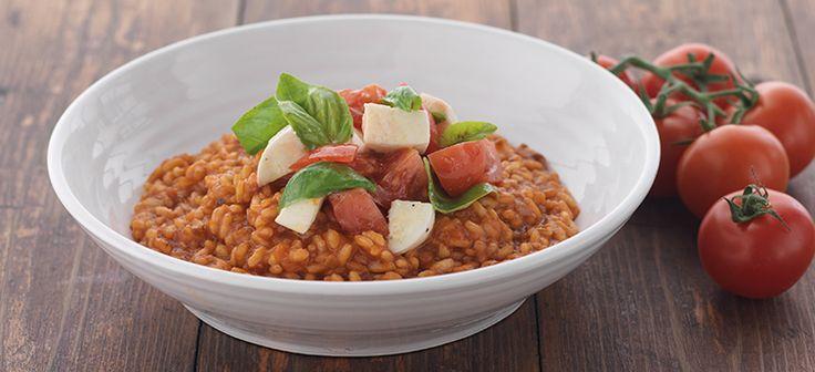 Summer Tomato Risotto
