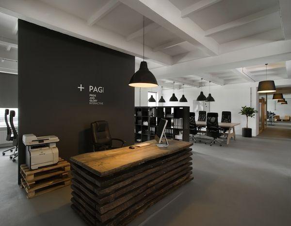 Pallets voor industriële kantoor inrichting