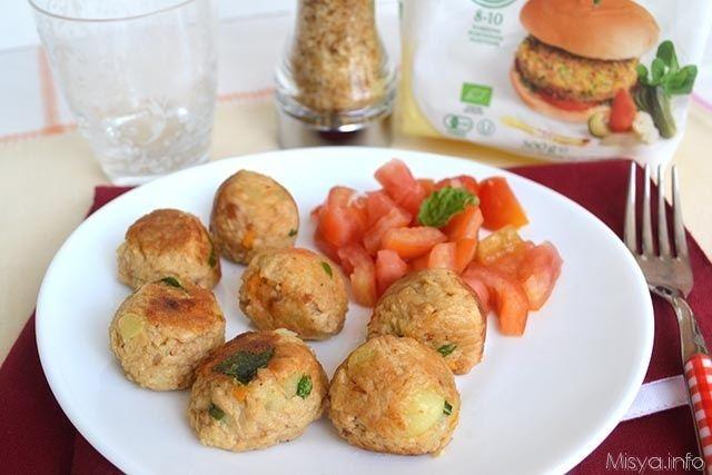 Polpette di soia, scopri la ricetta: http://www.misya.info/2015/06/09/polpette-di-soia.htm