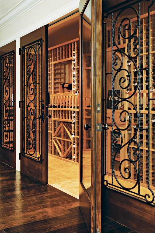 Merveilleux Luxury Wine Cellar Design
