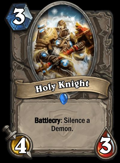 Silent Knight, Holy Knight, here it comes, the newest Knight!