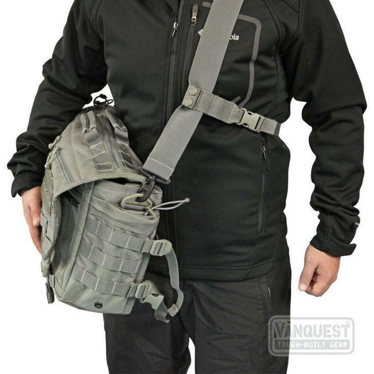 ENVOY Tactical Messenger Bag - VANQUEST: TOUGH-BUILT GEAR