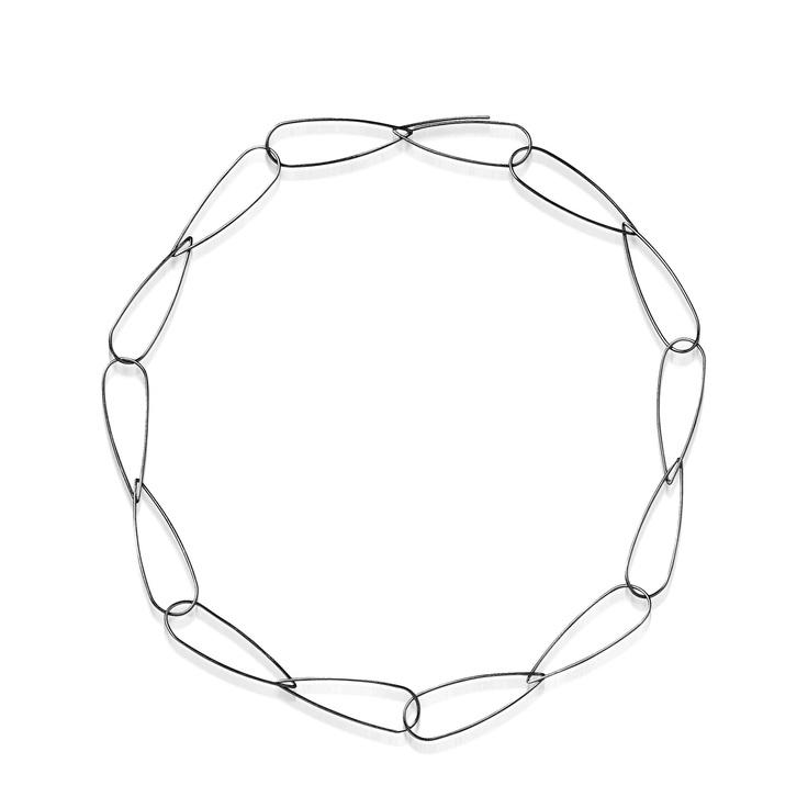 CLIP(S) necklace. HAndmade by HUNN/Karina Hunnerup
