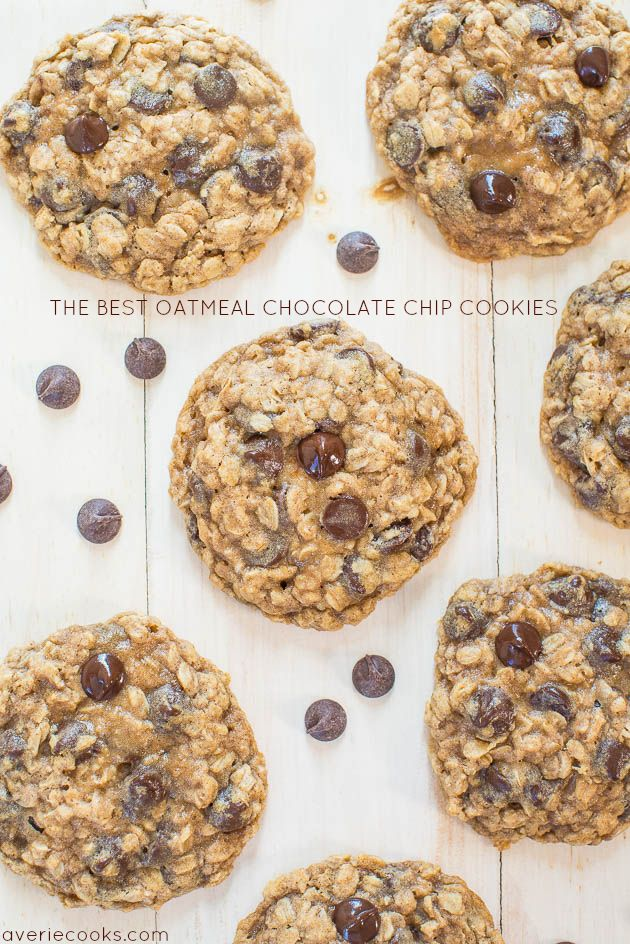 I have so many oatmeal cookie recipes. And chocolate chip cookie recipes. But didn't have 'my...