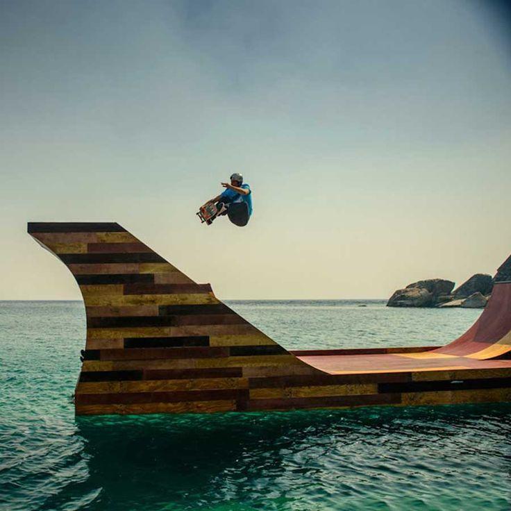Floating Skate Park