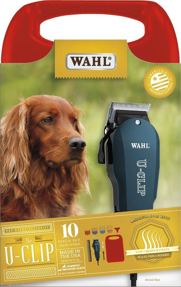 DELUXE PET GROOMING KIT - Wahl 9484-400 - Professional Electric Clippers - New