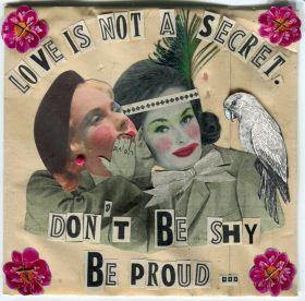 Arts Graphiques | Madame | Love is not a secret | Tirage d'art en série limitée sur L'oeil ouvert