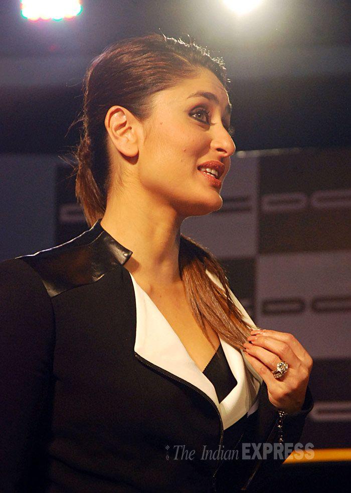 Kareena Kapoor styles up for Auto Expo 2014 #Style #Bollywood #Fashion #Beauty