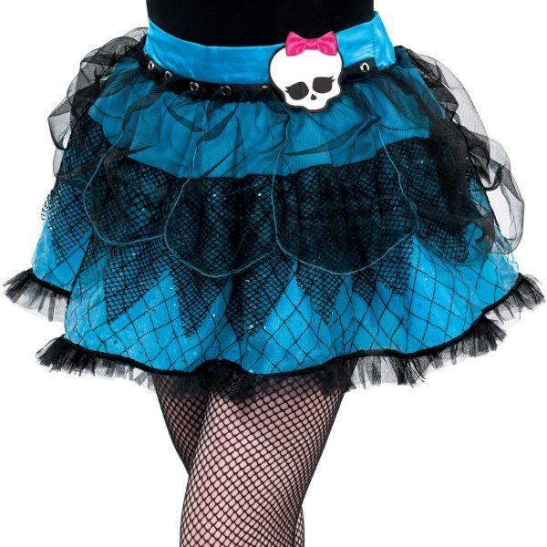 Girls Blue Monster High Tutu