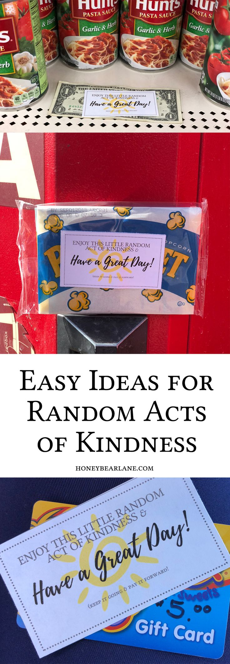 Random Acts of Kindness Ideas for Random Acts of Kindness Day! #ad #showlovewithpampers