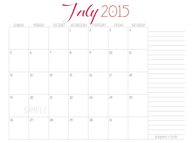 27 Best June 2015 Calendar Images On Pinterest 2015 Calendar