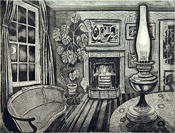 Winter Evening by Richard Bawden