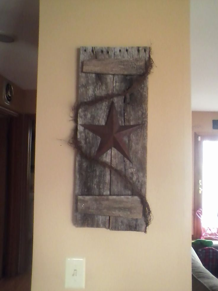 Primitive wood craft plans woodworking projects plans for Making craft projects from old barn wood