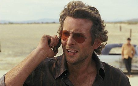 Bradley Cooper in ray bans