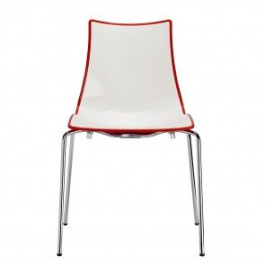 Zebra stoel Scab Design rode kuip | Musthaves verzendt gratis