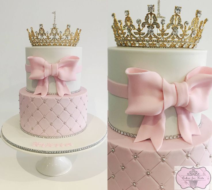 Princess theme cake by https://www.facebook.com/Cakes4Kids/