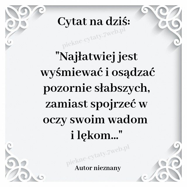 Cytat Na Dzis In 2020 Inspirational Quotes Quotations Words
