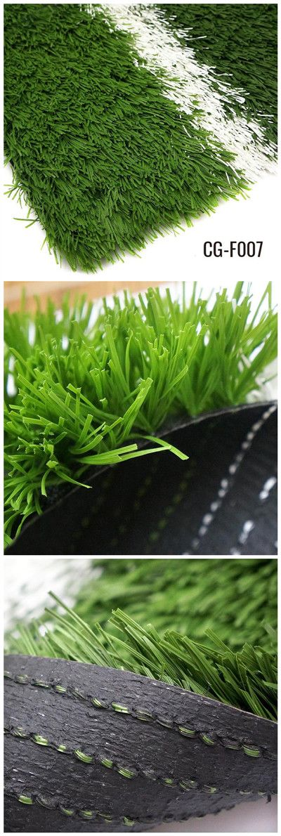 Easy to Install Soccer Synthetic Grass for Sports Court